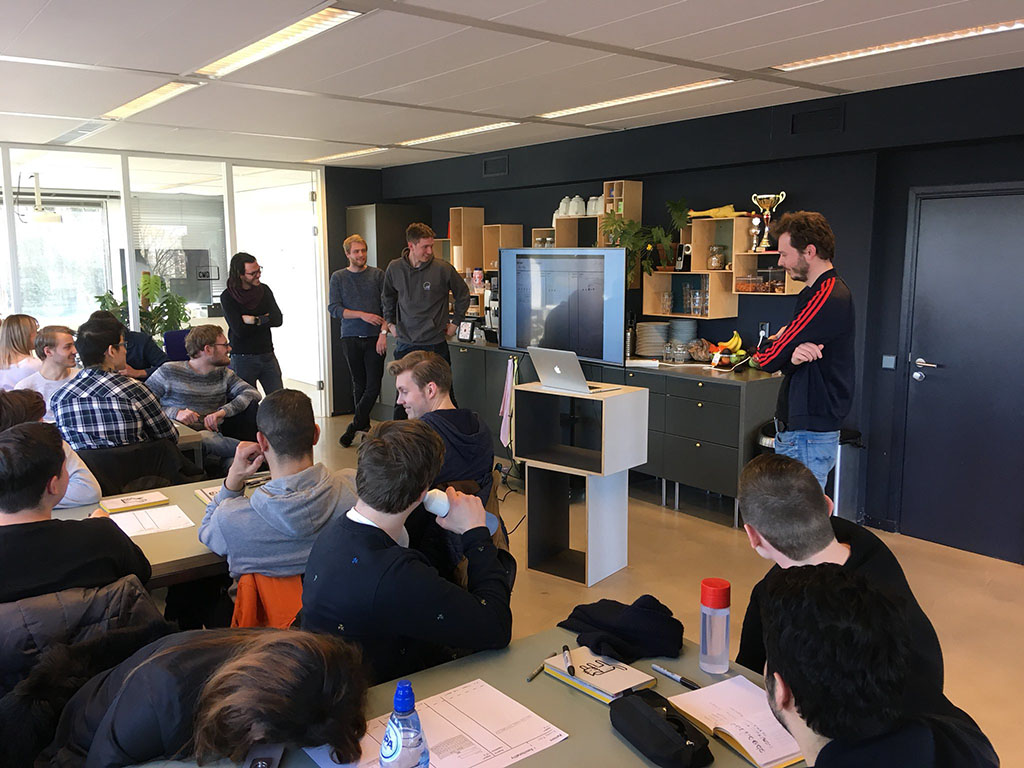 2018: Workshop code concepting at the Voorhoede